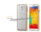 Viền nhôm CotЄetcl cho Samsung Galaxy Note 3 N9000 khuy bấm