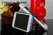 Ốp viền nhôm CotЄetcl iPhone5 5s bo tròn mô phỏng iPhone 6