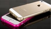 Ốp viền nhôm Love Mei iPhone5 5s bo tròn mô phỏng iPhone 6