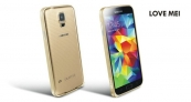 Ốp viền nhôm Love Mei cho Samsung Galaxy S5 G900