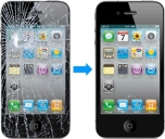 Mặt kính cảm ứng cho Iphone 4/4s