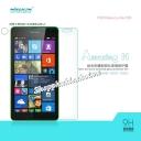 Miếng dán kính cường lực chống vân Nokia Lumia 535  hiệu Nillkin