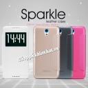 Bao da Sparkle cho HTC Desire 820 mini  hiệu Nillkin
