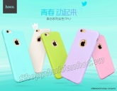 Ốp lưng Silicone cho iPhone 6/6 Plus nhiều màu sắc hiệu Hoco