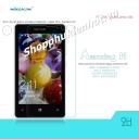 Miếng dán kính cường lực chống vân cho Nokia Lumia 435 Hiệu Nillkin