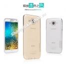 Ôp lưng silicon trong suốt cho Samsung Galaxy E5 hiệu Nillkin