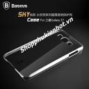 Ốp lưng nhựa trong suốt cho Samsung Galaxy E7 hiệu Baseus