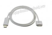 Cáp kết nối HDMI chạy IOS8 ra Tivi cho iPhone 4, iPhone 4S và iPad 2, iPad 3 dài 1.8m