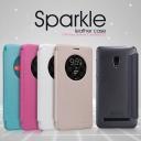 Bao da Sparkle cho Asus Zenfone 5 Lite hiệu Nillkin