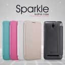 Bao da Sparkle cho Asus ZenFone C hiệu Nillkin