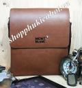 Túi da đeo chéo cho Ipad hiệu MONT BLANC - 8089