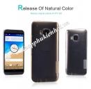 Ôp lưng silicon trong suốt cho HTC One M9 hiệu Nillkin