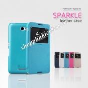 Bao-da-Sparkle-cho-Sony-Xperia-E4-hieu-Nillkin