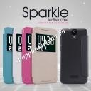 Bao da Sparkle cho HTC One E9 hiệu Nillkin