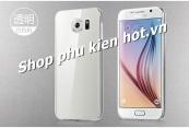 Ốp lưng silicone trong suốt Samsung Galaxy S6 hiệu Hoco