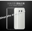 Ốp lưng silicone trong suốt Samsung Galaxy S6 Edge hiệu Hoco