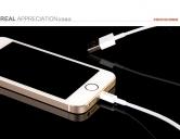 Cáp sạc lightning iPhone 5,6/iPad chính hãng Hoco