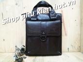 Túi đeo chéo,túi da iPad cỡ vừa A4 Droula 594