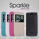 Bao da cao cấp Sparkle cho HTC One E9 Plus hiệu Nillkin