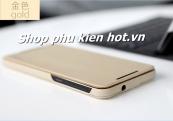 Bao da cao cấp cho HTC One E9 hiệu Rock Touch