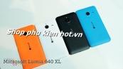 Vỏ nắp lưng, nắp đậy pin Microsoft Lumia 640 XL chính hãng