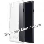 Ốp lưng nhựa cứng trong phủ Nano chống xước Sony Xperia C4 hiệu Imak