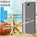 Ốp lưng nhựa cứng trong phủ Nano chống xước HTC One E9 Plus hiệu Imak