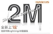 Cáp sạc lightning dài 2m cho iPhone 5,6/iPad chính hãng Baseus