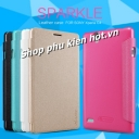 Bao da cao cấp Sparkle cho Sony Xperia c4 hiệu Nillkin