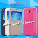 Bao da cao cấp Sparkle cho Samsung Galaxy J5 hiệu Nillkin
