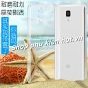 Ốp lưng nhựa cứng trong phủ Nano chống xước Xiaomi M4 hiệu Imak