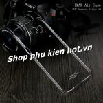 Ốp lưng nhựa cứng trong phủ Nano chống xước Samsung Galaxy A8 hiệu Imak