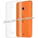 Ốp lưng nhựa trong phủ Nano chống xước Microsoft Lumia 540 hiệu Imak