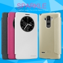 Bao da cao cấp Sparkle cho LG G4 Stylus hiệu Nillkin