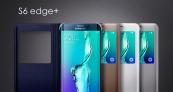Bao da Samsung Galaxy S6 Edge Plus Sview Cover chính hãng