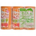 Nước trái cây Wakodo vị táo và Cà rốt