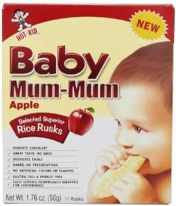 Bánh Baby Mum Mum- vị táo