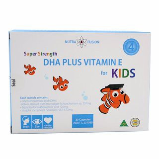 Super Strength DHA Plus Vitamin E