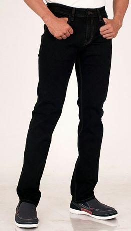 Quần Jean AJ AMANI - ống đứng co giãn cực chất mặc rất thoải mái lịch sự mà vẫn hiện đại có màu đen