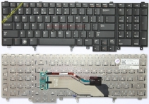 Keyboard DELL LATITUDE E6520 , E6530 , E5520 , E5530