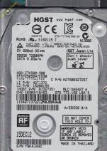 HDD Hitachi 500GB - 7200rpm - Cache 8MB - Sata (2.5 inch for Laptop)