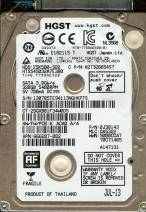 HDD Hitachi 320GB - 5400rpm - Cache 8MB - Sata (2.5 inch for Laptop)