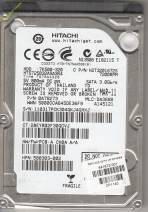 HDD Hitachi 320GB - 7200rpm - Cache 8MB - Sata (2.5 inch for Laptop)