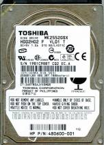 HDD Toshiba 250GB - 7200rpm - Cache 8MB - Sata (2.5 inch for Laptop)