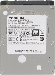 HDD Toshiba 320GB - 7200rpm - Cache 8MB - Sata (2.5 inch for Laptop)