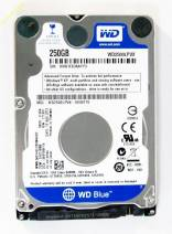 HDD Western 250GB - 5400rpm - Cache 8MB - Sata (2.5 inch for Laptop)