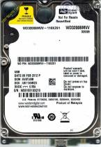 HDD Western 320GB - 7200rpm - Cache 8MB - Sata (2.5 inch for Laptop)