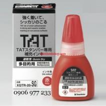 Mực TAT Shachihata XQTR-20G dùng châm vào dấu XQT