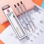 Bút chì 2B cao cấp bạc 12 cây/hộp deli CU24910