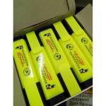 Bút dạ quang Leaderart Unid 101HL Màu vàng - Thương hiệu Nhật bền, đẹp, an toàn